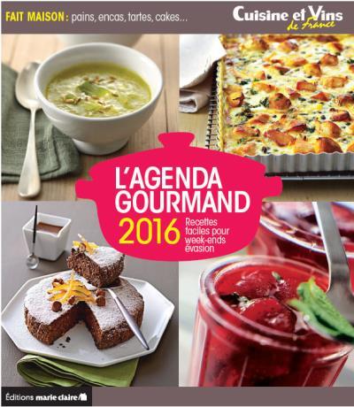 Agenda 2016 Cuisine Et Vins De France Broche Lucie Reynier