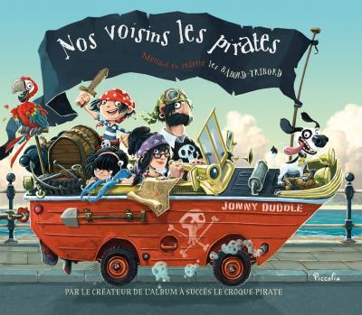 nos voisin les pirates livre enfants 5 ans