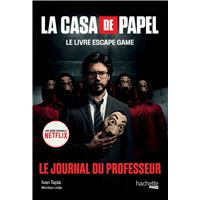 La Casa de Papel - Le livre escape game