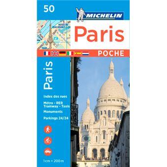 plan de ville paris poche numero 50