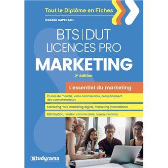 BTS-DUT Licences Pro marketing