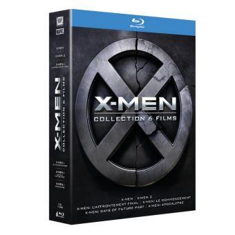 X-MenX-Men L'intégrale Prélogie et Trilogie Blu-ray