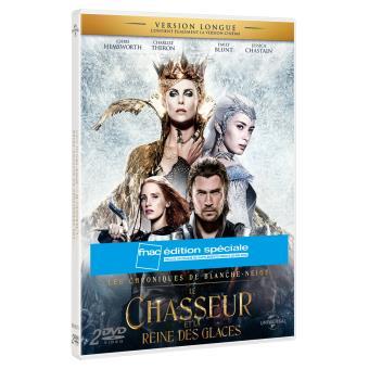 Le Chasseur et la Reine des Glaces Edition spéciale Fnac DVD + UV