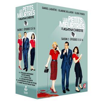 Les petits meurtres d'Agatha ChristieCoffret Les Petits meurtres d'Agatha Christie Saison 2 Episodes 12 à 16 DVD