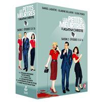 Coffret Les Petits meurtres d'Agatha Christie Saison 2 Episodes 12 à 16 DVD