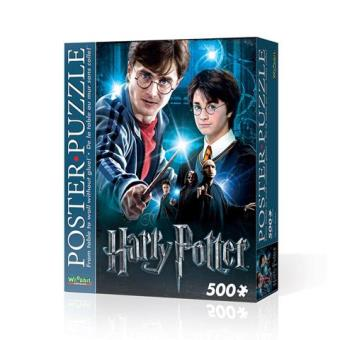 POSTER PUZZLE HARRY POTTER  ( 500 PCS)