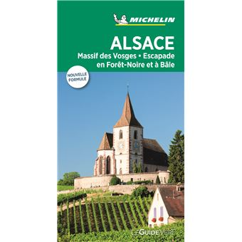 Guide Vert Alsace Vosges Edition 2018 Broche Collectif Achat