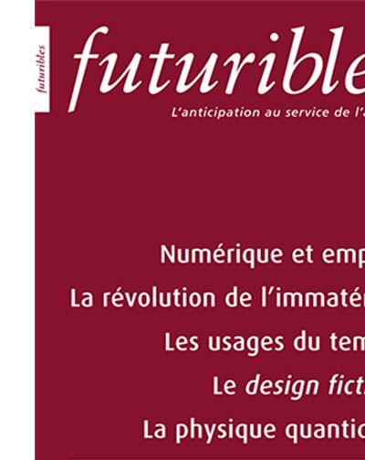 Numérique et emploi, La révolution de l'immatériel, Les usages du temps, Le design fiction, La physique quantique