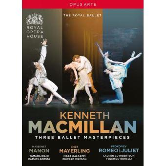 Trois Ballets :  Manon, Mayerling, Roméo et Juliette DVD
