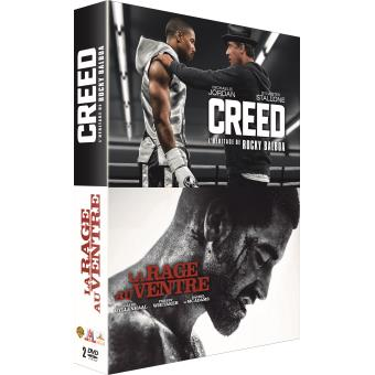 Coffret Creed, La rage au ventre DVD