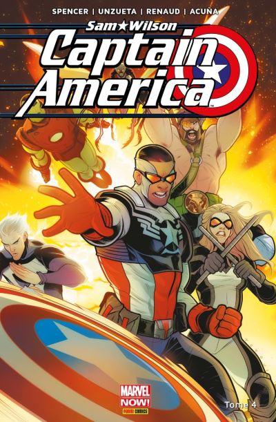 Captain America : Sam Wilson T04 - Fin du chemin - 9782809481815 - 12,99 €