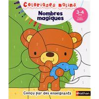 Nombres magiques PS 3/4 ans - Coloriages malins