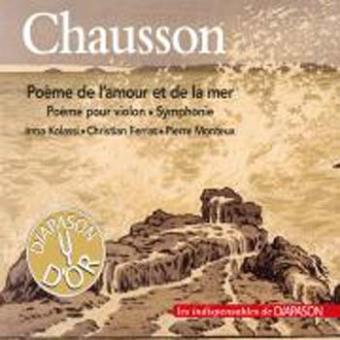 Poeme de l amour et la mer/poeme pour violon/symphonie