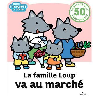 La famille Loup va au marché