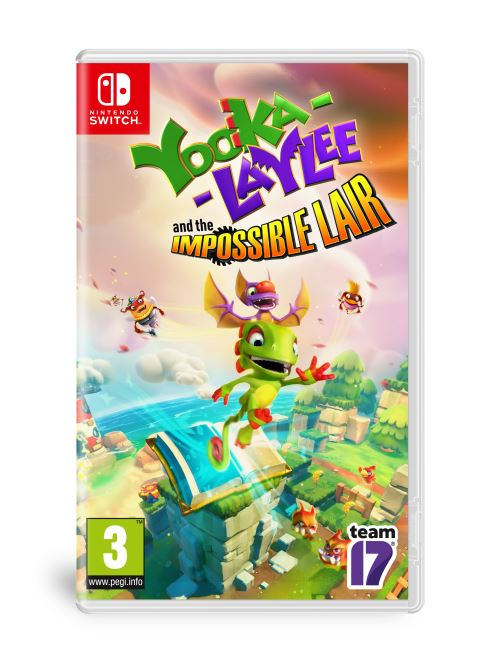 Looka-Laylee and The Impossible Lair Nintendo Switch
