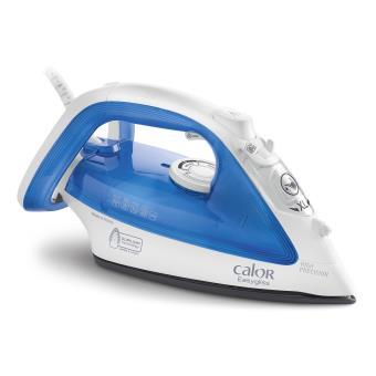Fer à repasser vapeur Calor FV3920C0 Easy Gliss 2300 W Blanc et Bleu