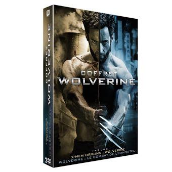 X-MenCoffret Wolverine 2 Films DVD