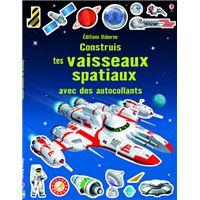 Construis tes vaisseaux spatiaux avec autocollants