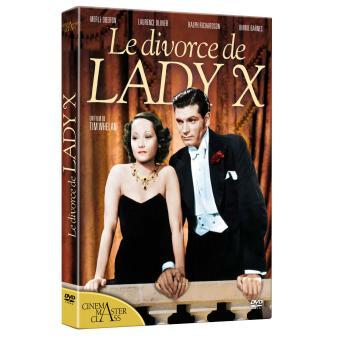 Le divorce de Lady X DVD