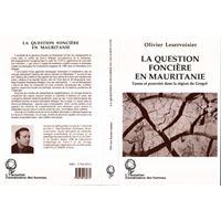 Question fonciere en mauritanie