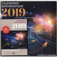 Calendrier mathématique - 2019