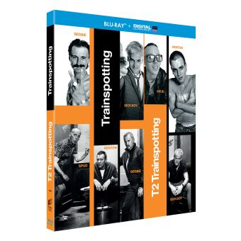 TrainspottingCoffret Trainspotting 1 et 2 Blu-ray