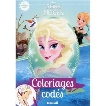 Coloriage Walt Disney Reine Des Neiges.La Reine Des Neiges Mes Coloriages Codes Disney La Reine Des