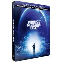 Ready Player One Steelbook Blu-ray 4K Ultra HD+ Blu-ray 3D