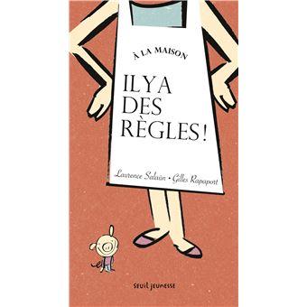 A La Maison Il Y A Des Regles Cartonne Laurence Salaun Gilles Rapaport Achat Livre Fnac