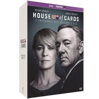 House of cardsHouse of Cards Saisons 1 à 5 DVD