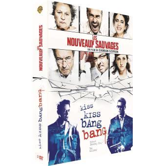 Coffret Kiss Kiss Bang Bang, Les nouveaux sauvages DVD
