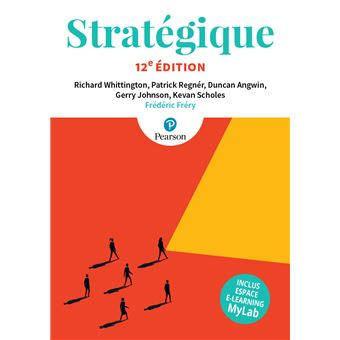 Stratégique, 12e + MyLab
