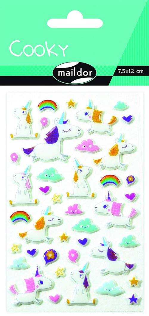 Stickers Maildor Cooky Licornes