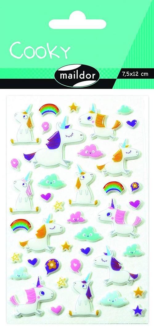 Stickers Maildor Cooky Licornes