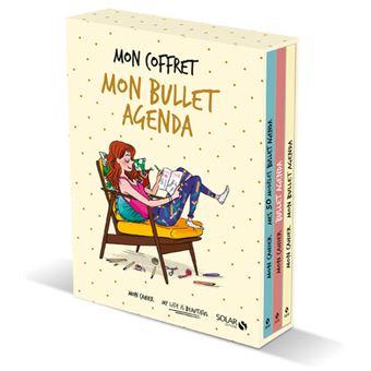Coffret Mon Cahier Bullet Agenda Coffret 3 Volumes Mon Cahier Mes
