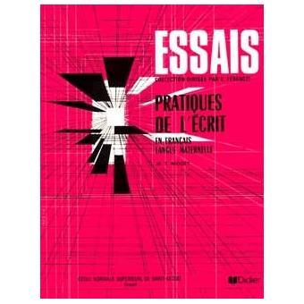 Pratique De L Ecrit En Francais Langue Maternelle