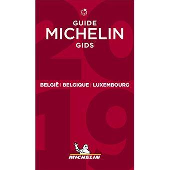 Le Guide Michelin Belgique Belgie Luxembourg