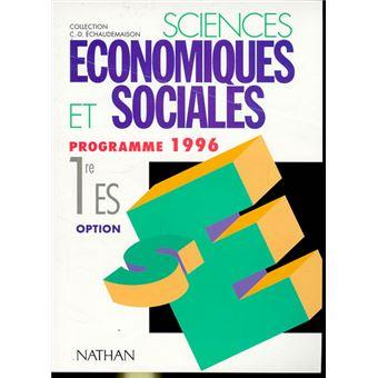 Dissertation 1ere es economie
