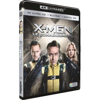 X-MenX-Men Le commencement Combo Blu-ray 4K DVD