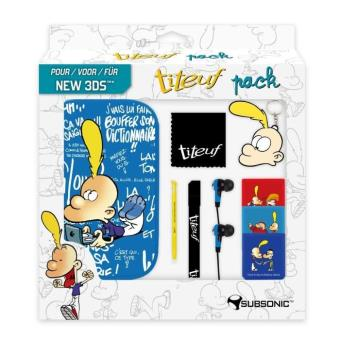 Pack accessoires Subsonic Titeuf pour New Nintendo 3DS