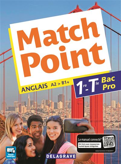 Match Point 1re, Tle Bac Pro (2017) - Pochette élève