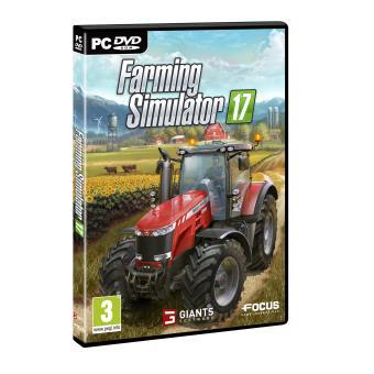 farming simulator 17 pc jeux vid o achat prix fnac. Black Bedroom Furniture Sets. Home Design Ideas