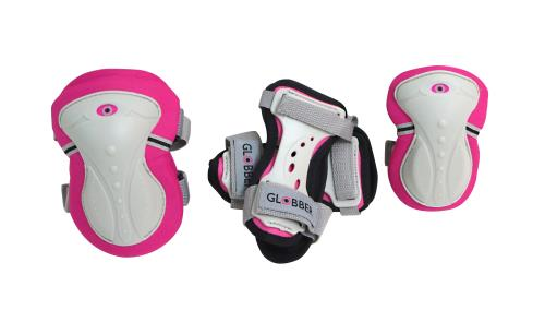 Set de 3 protections Globber Taille XS Rose