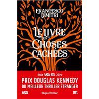 Le livre des choses cachées - Prix Douglas Kennedy du meilleur thriller étranger VSD et RTL 2019