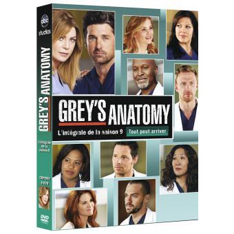Grey's AnatomyGrey's Anatomy - Coffret intégral de la Saison 9 - DVD