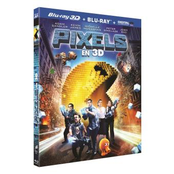 Pixels Combo Blu-ray 3D + 2D Inclus UV