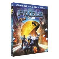 Pixels Combo Blu-ray 3D + 2D Inclus UV