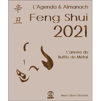 L'Agenda & Almanach Feng Shui 2021   L'année du Buffle de Métal