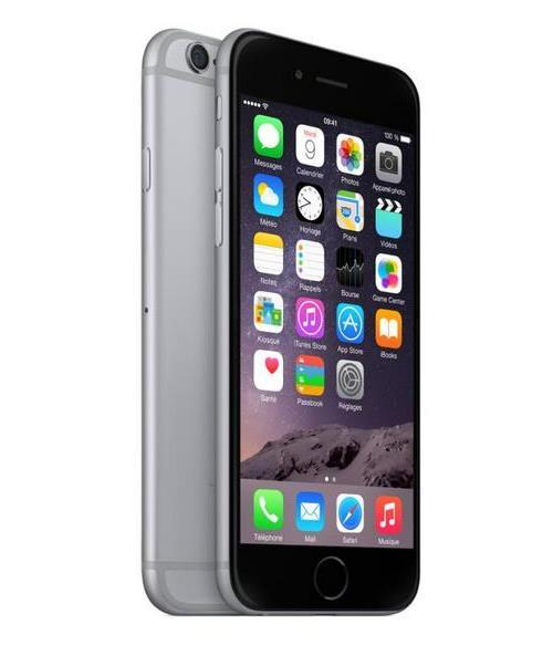 Apple iPhone 6 64 Go Gris Sidéral Reconditionné à neuf Fnac