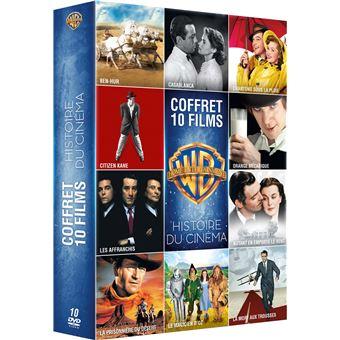 Coffret Histoire du cinéma 10 films DVD